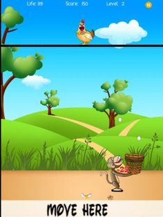 Use your tracking skills to catch the egg in the basket in this free app in iTunes!