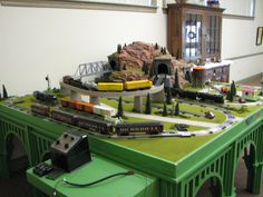 Lionel Dealer Display Layouts, Factory Layouts and Postwar Layouts | O Gauge Railroading On Line Forum | Repro D-148