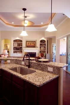 Open kitchens are wonderful!