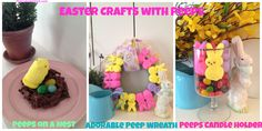 Easter Crafts with Peeps