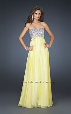 long bridesmaid dress #4 (i love this one because it would go perfectly with yellow and grey theme)