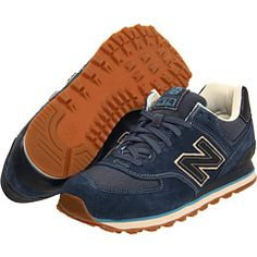 New Balance Classics ML574 - Navy Suede/Textile