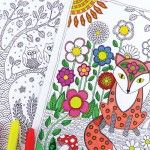 Colorful Woodland Coloring eBook - Easy Peasy and Fun