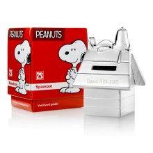 Hucha de Snoopy con grabado - ahorra de forma divertida