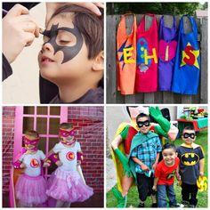 Superhero Party Ideas #superhero #partyideas