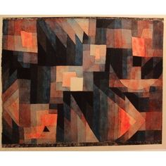 Abstract 1921 Canvas Art - Paul Klee (18 x 24)