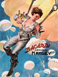 1949: Lillo Collection - Vintage Bacardi Rum Ad
