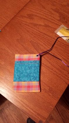 2 pocket cell pouch