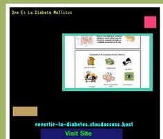 Que Es La Diabete Mellitus 182910 - Aprenda como vencer la diabetes y recuperar su salud.