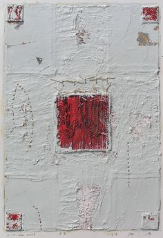 D-10. Jan.2006 painting, collage on paper  林孝彦 HAYASHI Takahiko 2006
