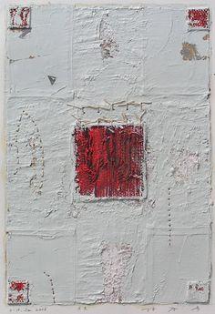 D-10. Jan.2006 painting, collage on paper 林孝彦 HAYASHI Takahiko 2006