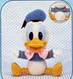 Amigurumi Baby Donald Duck - FREE Crochet Pattern / Tutorial