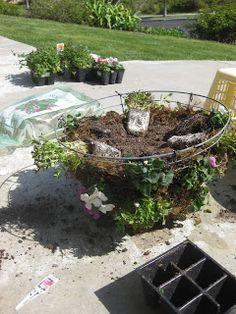 Mi Casa - San Diego: Hanging Flower Baskets