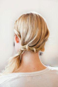 einfache Silvester Frisuren festlich