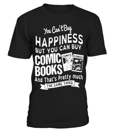 # Happiness-And-Comic-Books-T-shirt .  Happiness And Comic Books T-shirt