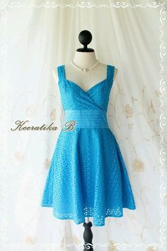 Vintage 1960s Dress -- Light blue Sundress -- Micropleat Floral ...