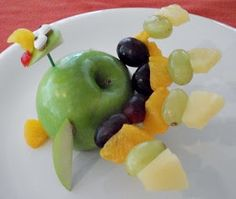 Kitchen Fun With My 3 Sons: Gobble Gobble up some Fruit!