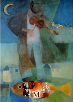 Items similar to A song for My Valentine ART PRINT Teachers Gift Dreamlike Musician Violin Moonlit Night Decor on Etsy Violin Music, Guitar, Gone Fishing, Another Man, Life Is Beautiful, Brave, Contemporary Art, Art Pieces, Arts And Crafts