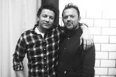 David Loftus with Jamie