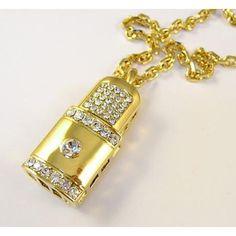 Pendrive Personalizado Joia - Cadeado de ouro e brilhantes R$130.00