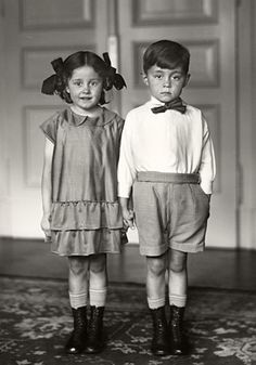 august sanders documentary photography | August Sander: Middle Class Children #33 (1925)