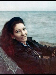 Maria Callas ,linda.