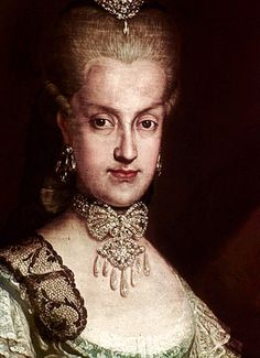 María Carolina Reina de Nápoles ,hermana predilecta de María Antonieta.