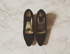 coming soon, 80s black suede heels #minminvintageshop #vintage #vintageboutique #vintageshop #80sheels #80sfashion #vintagefashion #vintageshoes #vintageheels