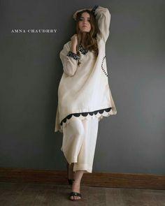 White dress simple white shirt with open trouser Simple Pakistani Dresses, Pakistani Fashion Casual, Pakistani Dress Design, Pakistani Outfits, Indian Dresses, Indian Outfits, Indian Fashion, Punjabi Fashion, Stylish Dresses For Girls