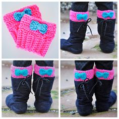 Toddler Boot Cuff Tutorial from matriart.com