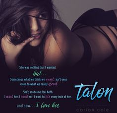 Book Heathens: Release of Carian Cole's Talon (Ashes & Embers Series Book 4)