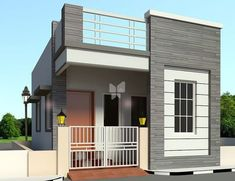 Nellai Krishna Dhanaya Villa in Avadi, Chennai with prices starting from 21 LView ✓photos ✓specifications floor plans and amenities at RoofandFloor.Nellai Krishna Dhanaya Villa offers Villas sized upto 870 SqFt starting at L in Avadi, Chennai. House Front Wall Design, Single Floor House Design, House Outside Design, Village House Design, Bungalow House Design, Small House Design, Modern House Design, Front Elevation Designs, House Elevation