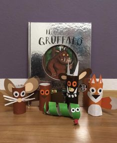 Gruffalo Activities, Creative Activities, Literacy Activities, Infant Activities, Activities For Kids, Toddler Play, Toddler Books, Winter Crafts For Kids, Diy For Kids