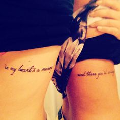 """In my heart's a memory... And there you'll always be.""- Fox and the Hound. Best friend tattoo. Simple tattoos."