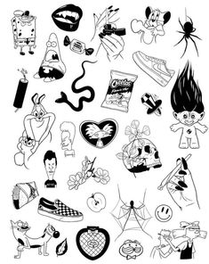 new sketches every d Sketch Tattoo Design, Tattoo Sketches, Tattoo Drawings, Art Sketches, Art Drawings, Tattoo Designs, Kritzelei Tattoo, Tattoo Dotwork, Doodle Tattoo