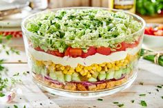 Sałatka gyros - jak zrobić? Przepisy na WINIARY Anti Pasta Salads, Pasta Salad Recipes, Keto Cake, Cooking Recipes, Healthy Recipes, Guacamole, Cobb Salad, Dinner Recipes, Food And Drink