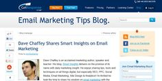 GetResponse – Dave Chaffey Shares Smart Insights on Email Marketing