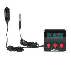 Lizards - Trixie Digital Thermometer/Hygrometer with Remote Sensor - Aquatic Supplies Australia www.aquaticsupplies.com.au