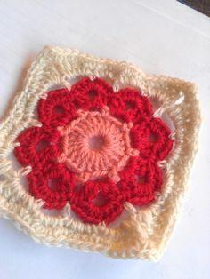 Granny #83 - 24 March 2014 #crochetmoodblanket2014 #sylphdesigns http://sylph.ee