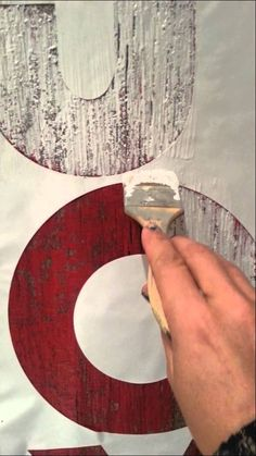 How to Paint Barnwood Letters with Jennifer from themagicbrushinc.com
