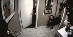 Watch Chris Evans Scare Elizabeth Olsen Sh*tless on 'Ellen'
