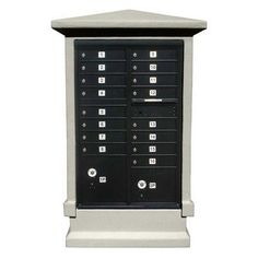 Stucco Short Pedestal CBU Column Mailbox Center Column Color: Non Painted by Qualarc. $1054.93. Stucco exterior with Styrofoam core. Comes ready to install over CBU (not included). No Assembly Required. Transforms a Cluster Box Unit (CBU) into an elegan mailcenter. Finish: Non-Painted. STUCOL-SHRT-NP Color: Non Painted Features: -Decorative column for CBU mailbox center with short pedestal.-Transforms a cluster box unit into an elegant mail center.-Column comes ready-to-install o...