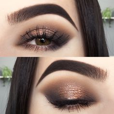 Anniquina Products used: Zoeva Smoky palette (Relieve The Moon, Sweet Smell, Elegant Chaos, Real Light), Show Makeup, Day Makeup, Eye Makeup Tips, Smokey Eye Makeup, Makeup Inspo, Eyeshadow Makeup, Makeup Inspiration, Makeup Ideas, Halo Eye Makeup