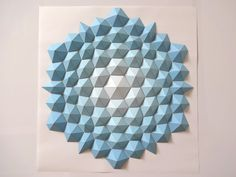 Hexagons Sky Blue
