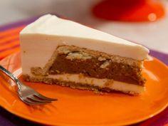 Get Cheesecake Pumpkin Pie Recipe from Food Network