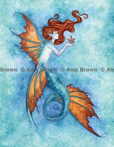 PRINTS-OPEN EDITION - Mermaids - Amy Brown Fairy Art - The Official Gallery