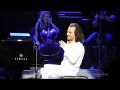 """(HD) Yanni talks about love and performs """"Felitsa"""" - Live in Vancouver 2014 - YouTube"""