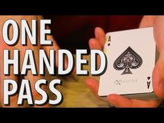 One Handed Pass - MAGIC TUTORIAL - YouTube
