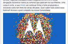 Em post, Motorola desmente boato sobre seu fim