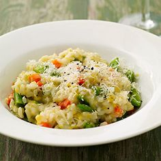 Spring Vegetable Risotto - FamilyCircle.com